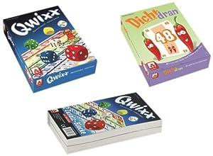 Nürnberger-Spielkarten 8902 - Dicht Dran mit Qwixx Zusatzblöcke, 2 x 80 Blatt