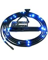 NZXT - Gaine Lumineuse - 24 LEDs - 2 metres - Sleeved LED Kit - CB-LED20-BU - Bleu