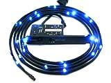 NZXT CB-LED20-BU Light Sensitivity Sleeved LED Kit (2-Meters) (Blue)