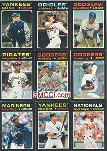 2013 Topps Mini 1971 Retro Baseball Series Complete Mint 50 Card Insert Set Loaded... by Topps Mini