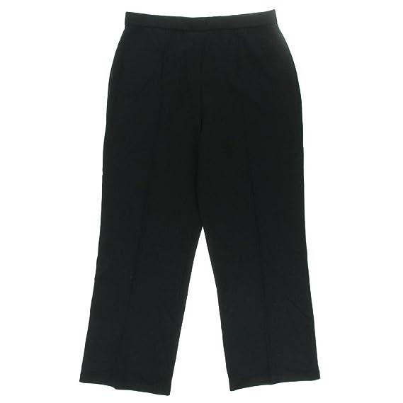 St John Womens Wool Woven Casual Pants