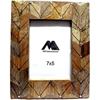 MH Craft Wooden Gold Photo Frame (Photo Size - 18x13 Cm, 1 Photos) …