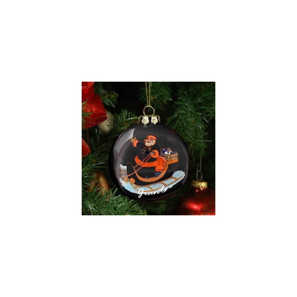 San Francisco Giants Santa Ornament MLB Baseball Fan Shop Sports Team Merchandise