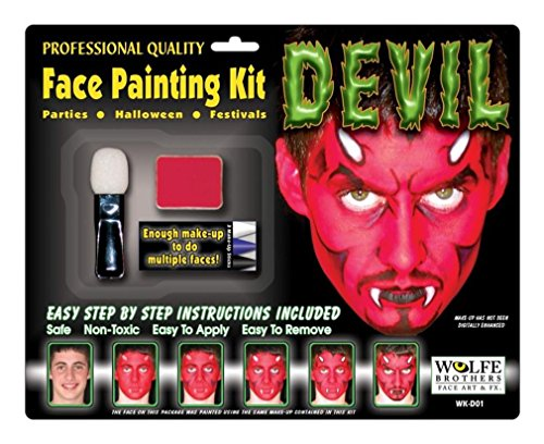 Devil Make-Up Kit