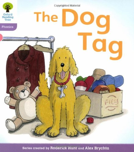 Oxford Reading Tree: Level 1+: Floppy's Phonics: The Dog Tag (Floppy Phonics)