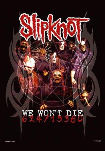 Empire Merchandising Slipknot Poster bandiera noi non morire