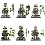 SY11101 Marine Corps Army Minifigures...