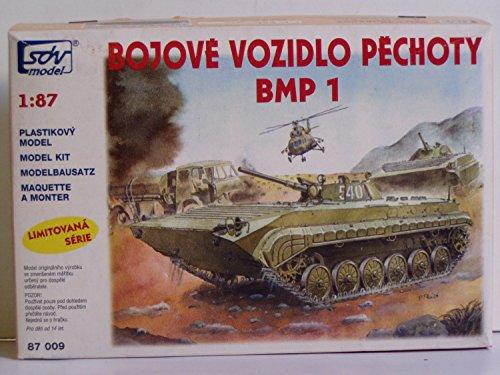 Modellbau Kunststoff Modellbausatz Militaer 1:87 H0 SDV BMP 1 Schützenpanzer Wagen Panzer Fahrzeuge DDR Ostblock