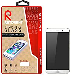 Raydenhy 2.5D Curved Edges 0.33MM Thickness Tempered Glass For Asus Zenfone 3