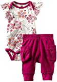 Tea Collection Baby-girls Infant Flutter Sleeve Outfit