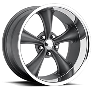 "Boss Motorsports 338 Hyper Gray Wheel (20x8.5""/5x5"")"
