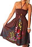 One-size-fits-most Tube Dress/Coverup - Zinnia Ivy Brown