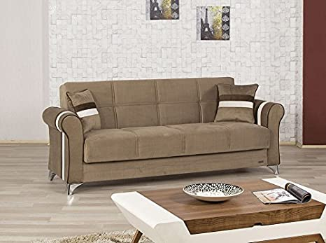 Metro Life Sofa Bed | Sarp Dark Beige
