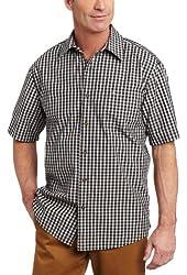 Carhartt Men's Essential Plaid Short Sleeve Open Collar Shirt