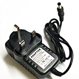 Argos Value Silver Portable DVD Player 9V Mains AC Adaptor Power Supply Charger