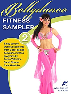 Bellydance Fitness Sampler 2 - sample segments from 5 bellydance fitness programs [HD]