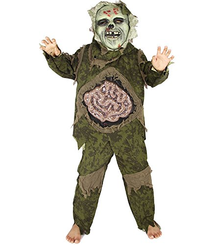 Gurteen Halloween Masquerade Prop Zombie Movie Costume Party Walking Dead Outfit