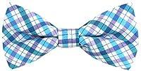 OCIA® Boy's T/C Cotton Plaid Handmade Bow Tie - Collection
