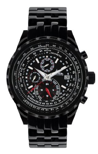 Richtenburg Montre Homme Stahlfighter noire IP R10900