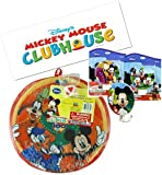 Disney Mickey Mouse Clubhouse 11 Velcro Dart Game Board with Ball! Featuring Mickey, Donald Duck & Goofy! Includes Mickey & Freinds Night Light w/ Pruchase!