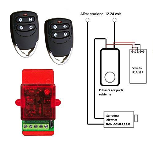 kit-apriporta-automatico-con-2-telecomandi-per-elettroserratura-serratura-elettrica-a-12-24vca-si-co