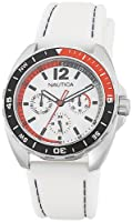 Nautica Unisex N09907G Sport Ring Multifunction White Box Set Watch from Nautica