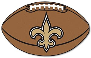 New Orleans Saints 22x35 Football Floor Mat (Rug) by Fanmats