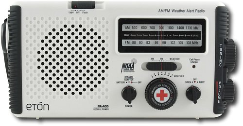 Eton American Red Cross Fr405 - Portable Radio - White