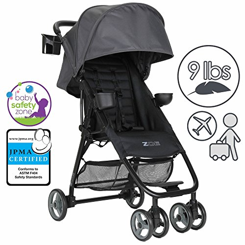 Find Bargain ZOE XL1 BEST Xtra Lightweight Travel & Everyday Umbrella Stroller System (Noah Grey)