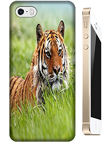 Lovely Power Tigers Cases Covers Phone Hard Back Cases Beautiful Nice Cute Animal Hot Selling Cell Phone Cases For Apple Accessories Iphone 4/4S # 1