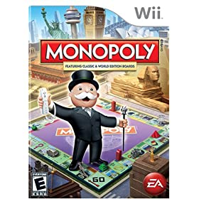 Monopoly XBox 360 or Wii game!