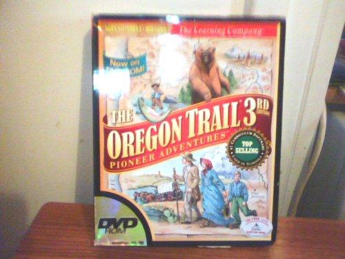 THE OREGON TRAIL 3RD EDITION BIG BOX PIONEER ADVENTRE GAME DVD ROM WINDOWS 95/98