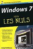 echange, troc Andy RATHBONE - Windows 7, 3e Poche Pour les Nuls