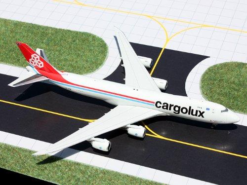 1: 400 ジェミニジェット Cargolux ボーイング 747-8F (並行輸入)