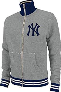 New York Yankees Mitchell & Ness MLB Vintage Garment Washed Full Zip Premium... by Mitchell & Ness