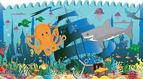 Mona Melisa Designs Baby Crib Mural, Shark
