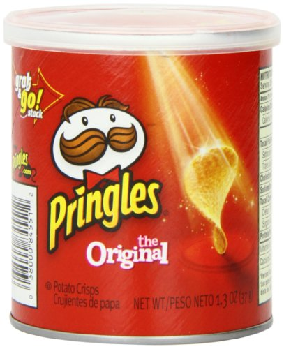 Pringles Original Small Stacks, 1.3 Ounce (Pack of 12) (Pringles Corn Chips compare prices)