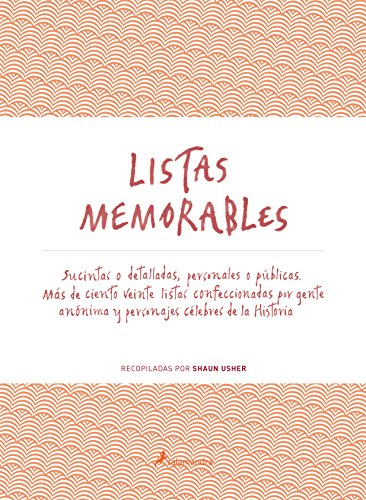 LISTAS MEMORABLES (S) (Ensayo)
