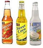 Lester's Fixin's 'Southern Style' 3-Pack - Bacon Soda, Ranch Soda, and Sweet Corn Soda