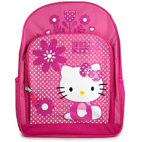 Hello Kitty Sparkles and Flowers Backpack (16 Inch)
