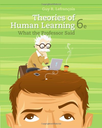 Theories of Human Learning: What the Professor Said (PSY...