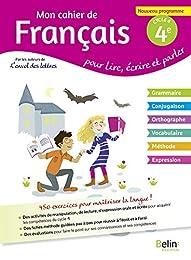 Mon cahier de Français 4éme