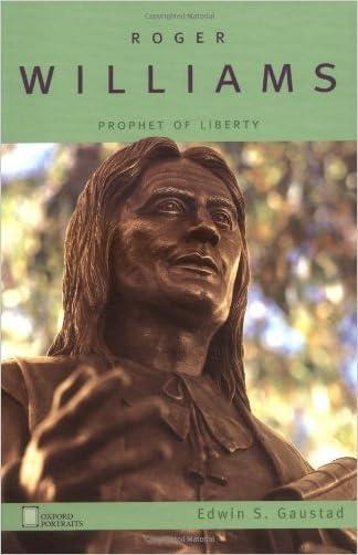 Roger Williams: Prophet of Liberty (Oxford Portraits)