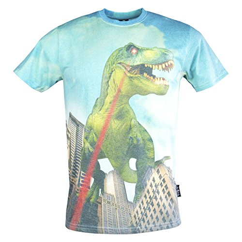 Fearless Illustration Dino Atrocity T-Shirt - Large - 38-40 chest