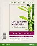 img - for Developmental Mathematics through Applications: Basic College Mathematics and Algebra, Books a la Carte Edition book / textbook / text book