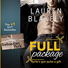 Full Package Audiobook by Lauren Blakely Narrated by Sebastian York