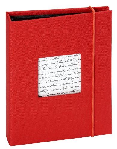 Altergenossesfotoalbum Linea 36 Sichte 11,5X15 Rot