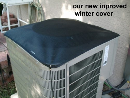 Cooling And Heating Unit Covers : Air conditioner condenser covers