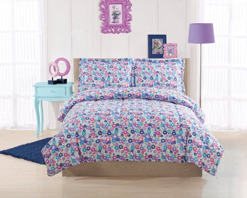 Libby Floral Full Comforter With 2 Shams front-942570