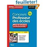 Concours Professeur des écoles - Mise en situation professionnelle - Concours 2014 - Nouveau CRPE